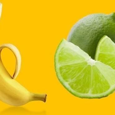 Batido de plátano y limón para el cansancio crónico, anemia, cálculos renales, aumentar las defensas, del cuerpo, quitar el estrés y elevar energía.