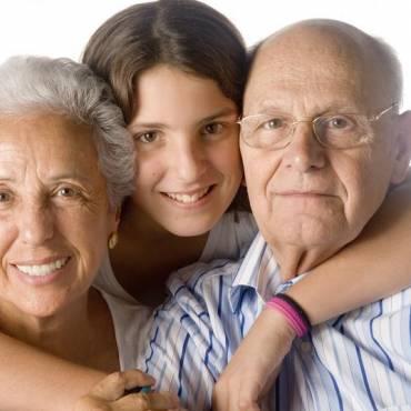 Los nietos son como herencias, tu los recibes sin merecer