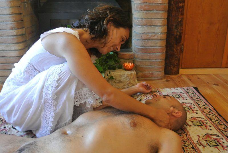 eyaculación terapéutica de masaje de próstata