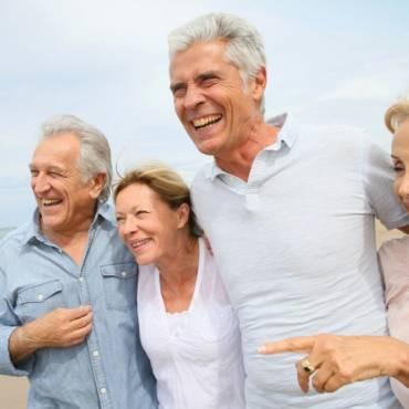 No te pongas triste por envejecer, es un privilegio que muchos no tienen.