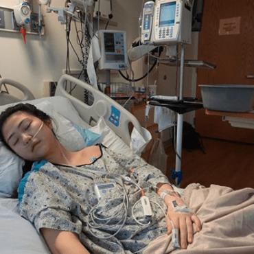 Radiografías de los pulmones de una joven de 19 años muestran los efectos devastadores del vapeo