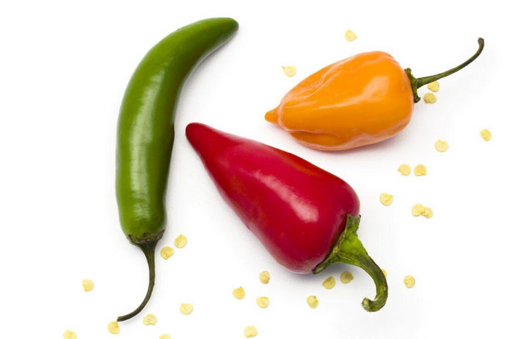 Los beneficios para la salud de los chiles